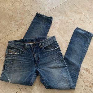 Diesel Thavar Distressed Jeans 32x32